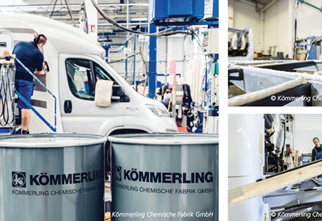 H.B. Fuller Kömmerling offers a one-stop solution for RV manufacturers