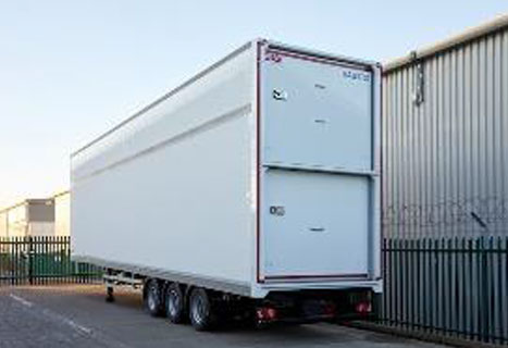 Completed Transdek trailer