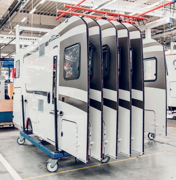 KÖMMERLING's adhesive & sealant for RV manufacturers