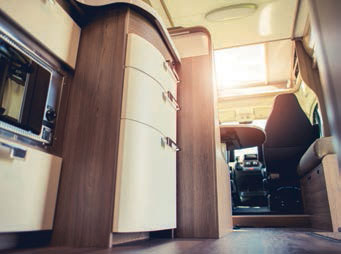 global adhesive power for RV interiors
