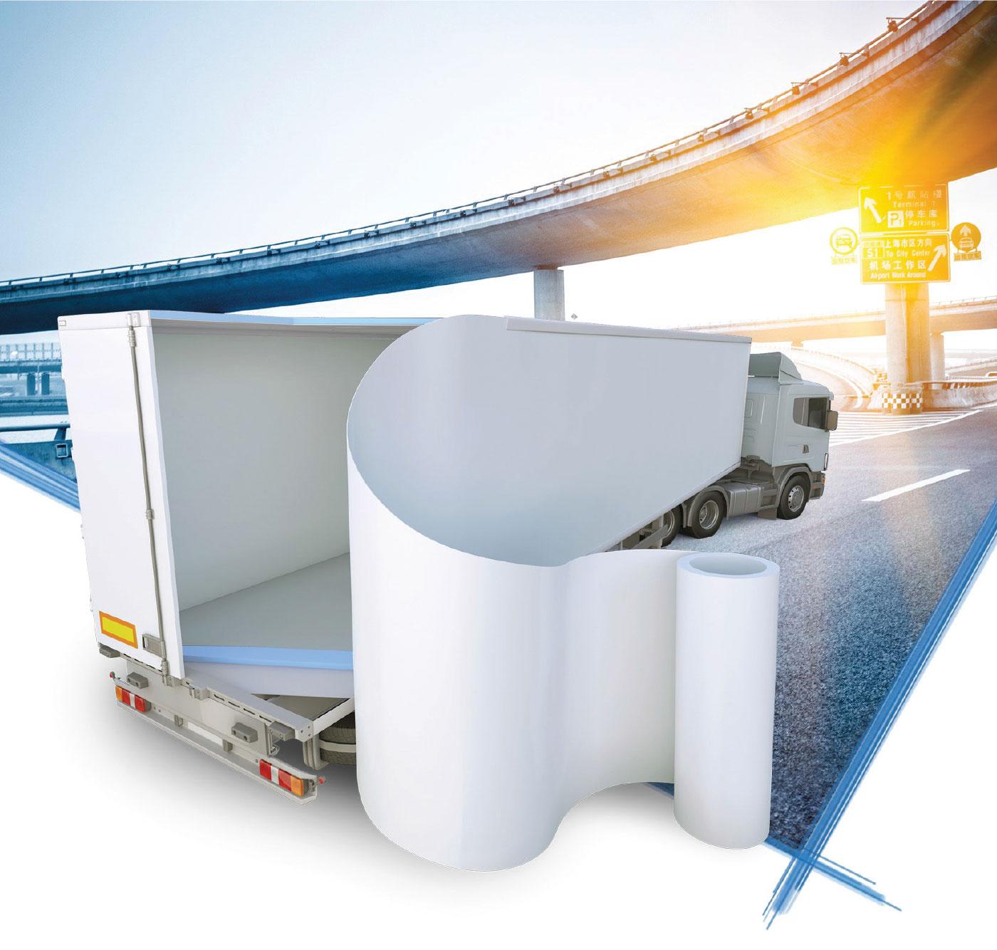 Brianza Plastica Truck insulation products range