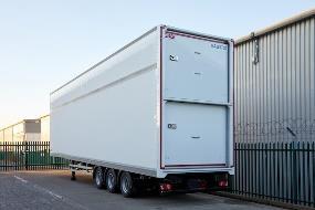 Completed Transdek trailer