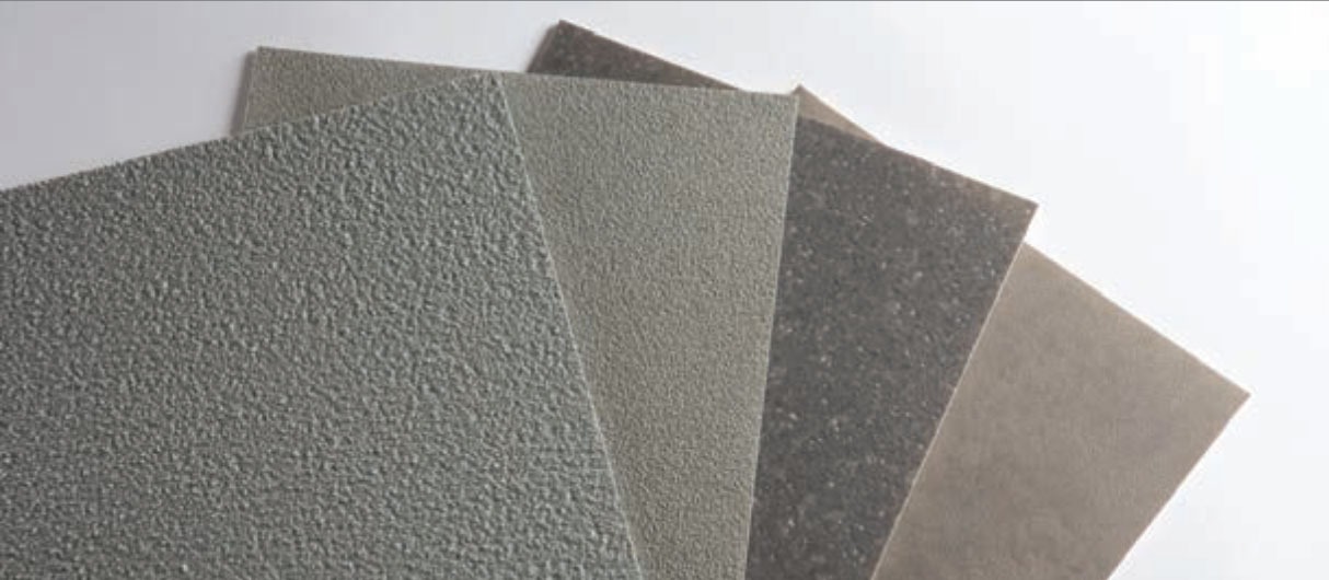 ibreglass laminate with PVC or paper for recreational vehicles