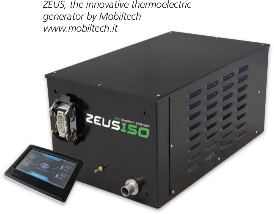 ZEUS innovative thermoelectric generator by Mobiltech